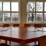 Blick aus den Fenstern des kleinen Seminarraums